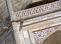 Taj Mahal 142 (David OMalley) Tags: world india heritage river site tomb taj mahal agra unesco mausoleum shah pradesh uttar jahan mughal mumtaz yamuna