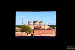 Abbasi Mosque at Derawar Fort (Ali Chatai | Photo.blog) Tags: pakistan architecture dessert photography cityscape fort arts mosque ali abbasi cholistan derawar chatai alichatai