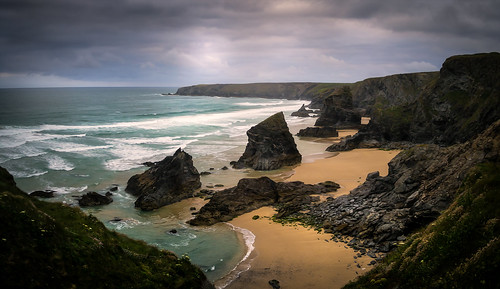 """High Above Bedruthan • <a style=""""font-size:0.8em;"""" href=""""http://www.flickr.com/photos/110479925@N06/27737260611/"""" target=""""_blank"""">View on Flickr</a>"""