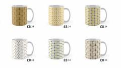 Sugar Sprinkles Set ws (MidCenturyStyles) Tags: coffee mugs pattern tea midcentury