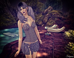 Sabrymoon wearing Karla Boutique Danjelle Pewter Outfit and IT! No Disco King jewels (Two Too Fashion) Tags: sexy fashion style it sensual secondlife casual chic stylish highfashion casualchic fashiondress fashionskirt secondlifemodel femaletop fashiontop inspirationsl femaleoutfit chicoutfit karlaboutique nodiscoking danjellepewteroutfit