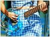 Micayla Grace / Bleached (Scottspy) Tags: flickrandroidapp:filter=none micaylagrace bleached bleachedband bassist blue scottspy guitar bass lucite clear dresses patterns concerts buzzbeachball musicfestivals concertphotography gigs women detailshots luciteguitar