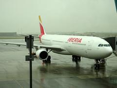 EC-LZJ Airbus A330-302 cn 1490 Iberia Madrid Barajas 09May16 (kerrydavidtaylor) Tags: a330 a330300