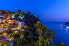 Location, Parga (Old Town Castle), Hellas (dimitrisrentis) Tags: architecture landscape blue sky sea green graphic night street city colour castle old outdoor port hellas tree tower parga ship light macedoniagreece macedonian makedonia timeless