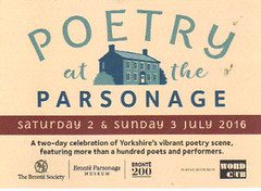 POETRY AT THE PARSONAGE... (summonedbyfells) Tags: haworth charlottebronte