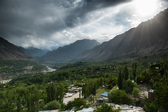 Karimabad Hunza (Muhammad Hamza Niazi) Tags: pakistan hunza gilgit baltit baltitfort