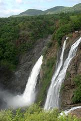 Braided Falls (VinayakH) Tags: gaganchukkifalls shivanasamudram karnataka india kaveririver river waterfalls chamarajanagar