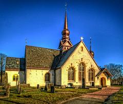 Lerum church 1681-1687 (bengt.cederman) Tags: churches hdr