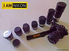 I am Nikon (Giorgio Mandrioli ph.) Tags: art photo nikon 7100 passion nikkor ottiche obiettivi d7100