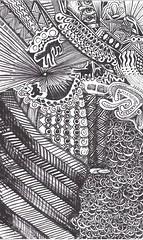 Kitten on the Keys-Schutzen (molossus, who says Life Imitates Doodles) Tags: x zia schutzen zentangle zentangleinspiredart