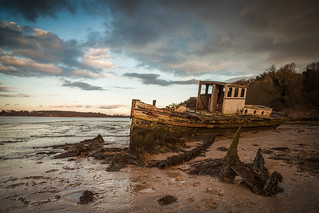 Beached - Pin Mill, Suffolk