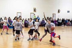 Girls Basketball Game Double Header GRPS Montessori Union High March 07, 2015 27 (stevendepolo) Tags: girls game basketball youth high union grand rapids montessori grps