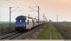 SNCF 267413 + 567484 @ Nanteuil-le-Haudouin (Wouter De Haeck) Tags: paris picardie sncf ter parisnord laon anor oise corail hirson laplaine rff sociéténationaledescheminsdeferfrançais bb67000 nanteuillehaudouin brissonneauetlotz réseauferrédefrance transportexpressrégional l229