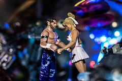 A Bizarre Disco (misterperturbed) Tags: cherry wrestlers mattel wwe fandango jakkspacific