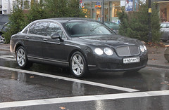 Russia (Moscow) - Bentley Continental Flying Spur (PrincepsLS) Tags: berlin germany spur flying russia moscow continental plate 99 license russian bentley spotting moskva