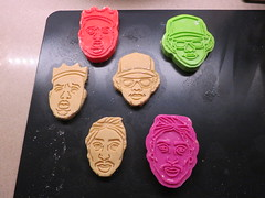 Baking with my Homies (Jen44) Tags: musician music food cookies musicians cutout dead dessert baking funny artist cookie sweet dough crafts treats humor humour retro sugar stamp plastic nostalgia homemade novelty artists sweets nostalgic hiphop tribute treat rap mold flour shape homies bake rapper cutter 1990s tupac 1990 90s deceased homie novelties biggie notorious eazye notoriousbig christopherwallace bakingwithmyhomies