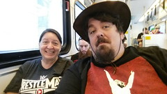 Our Road to #wrestlemania is a @vta Light Rail train (earthdog) Tags: moblog wrestling cellphone samsung needstags wwe wrestlemania 2015 prowrestling needstitle androidapp levisstadium samsunggalaxys5 samsungsmg900p