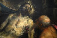 Titien, Pietà (dét. du Christ), c. 1576 — Venise, mars 2015 (Stéphane Bily) Tags: venice italy painting christ peinture venise italie accademia titian titien stéphanebily