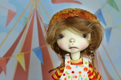 The circus is coming to town!  Connie Lowe Meek (lily_whitebear) Tags: bjd sprocket yosd marbledhalls tinybjd connielowe