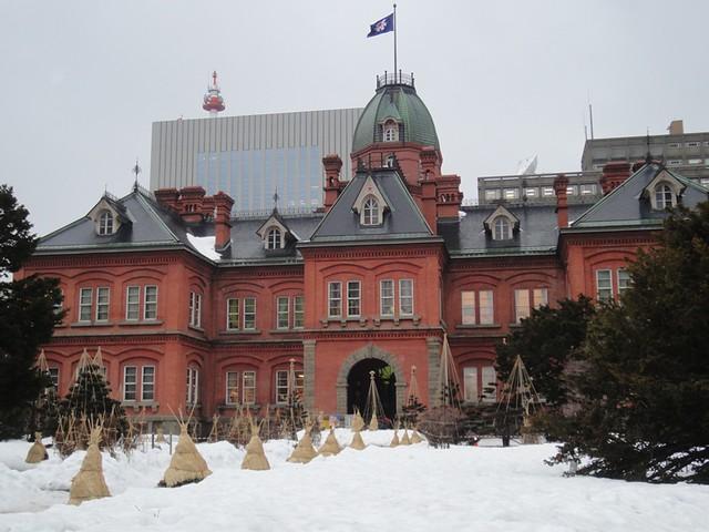 赤レンガの旧道庁|北海道庁旧本庁舎(道庁赤レンガ庁舎)