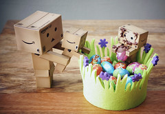 Day 95/365 (popp1973) Tags: easter chocolate eggs danbo 1855kitlens danboard nex7 sonynex7 chocolateinducedcoma