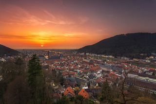 Heidelberg Sunset