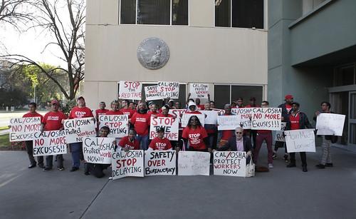 Cal/OSHA Protest (3/19/15)