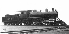 CB&Q 4-4-2 Class P-2-C 1586 (Chuck Zeiler) Tags: cbq 442 class p2c 1586 burlington railroad locomotive chuck zeiler