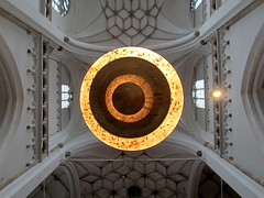 Concentric (Art Rock (Hennie)) Tags: lighting church arnhem ceiling concentric eusebius