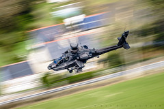 'Blurred Death' (benstaceyphotography) Tags: motion blur army movement chopper apache aircraft aviation air attack helicopter sortie middle corp panning gunship aac wallop lowlevel longbow rotors lowfly wattisham