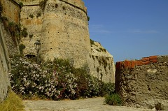 Castello di Milazzo (Breboen - I SUPPORT THE EU) Tags: old italy plants building castle heritage history stone architecture outdoor military culture medieval knights sicily typical stronghold fortress milazzo