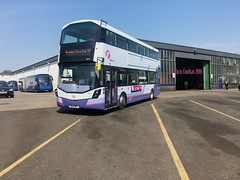 Irish Arrivals (ccoultas) Tags: new west bus mercedes benz yorkshire group first depot wright bramley 35219 streetdeck