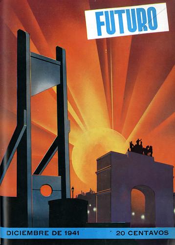Portada de Josep Renau Berenguer para la Revista Futuro (diciembre de 1941)