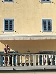 La terrazza (frescoroberto) Tags: estate sole ragazza balcone pirano