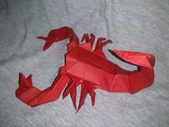 Scorpion by Marc Vigo (saarse27) Tags: art paper origami arachnid sting stinger folding venomous venom arthropod sulpture