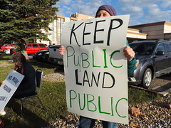 DSCN6554 (WildEarthGuardians) Tags: protest wyoming climate publiclands leasing oilandgas fracking keepitintheground