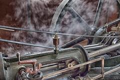 Steam machine (Dietjee) Tags: history tourism netherlands arnhem machine olympus steam omd openluchtmuseum freia mft em5 stoommachine kaasfabriek 918mm museaal