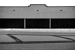 Untitled (SeanMcWhite) Tags: blackandwhite building tampa photography minimal ybor bnw