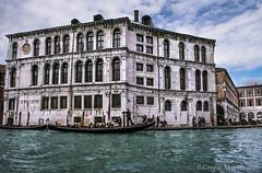 Venice White Building_ (GatitaMala02) Tags: old travel blue venice vacation italy holiday history water beautiful italia historic gondola striking venezia