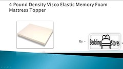 4 Pound Density Visco Elastic Memory Foam Mattress Topper (bhadgram) Tags: by flow cool with deluxe air 4 best full foam memory latex organic textiles mattress pound dynasty topper density elastic certified therapeutic visco