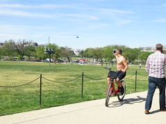 IMG_0410 (FOTOSinDC) Tags: shirtless man hot bike candid handsome biker shorts