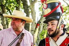 Texian Rebels Meet Mexican Army...Again (wyojones) Tags: man hat infantry beard soldier uniform gun texas rifle houston reenactor texan deerpark texican texasindependence sanjacintoday sanjacintobattlefieldstatehistoricalpark sanjacintobattlereenactment