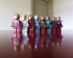 Iron Men (Lego Skeleton) Tags: man iron lego tony marvel stark