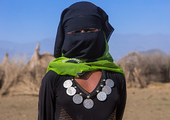 Portrait of an oromo woman with maria theresa thalers necklace, Amhara region, Artuma, Ethiopia (Eric Lafforgue) Tags: africa portrait people money color horizontal mystery silver religious outdoors photography clothing coin women veiled adult muslim islam religion culture jewelry tribal hidden covered mysterious teenager tradition typical ethiopia tribe niqab ethnic oneperson jewel developingcountry burqa hornofafrica ethiopian eastafrica abyssinia thaler realpeople onewomanonly lookingatcamera ruralscene oromo waistup 1people indigenousculture unrecognizableperson amhararegion mariatheresathaler ethio161081 artouma artuma