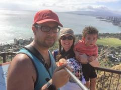 IMG_0401 (The.Rohit) Tags: travel vacation mountain beach nature landscape hawaii coast waikiki oahu hiking hill hike explore crater vista honolulu aloha leahi hikingtrail diamondheadcrater diamondheadstatemonument diamondheadsummittrail