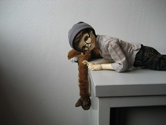 Plain Day 004 (EmpathicMonkey) Tags: toby ball toys happy monkey photo dolls olive story bjd jointed bluefairy