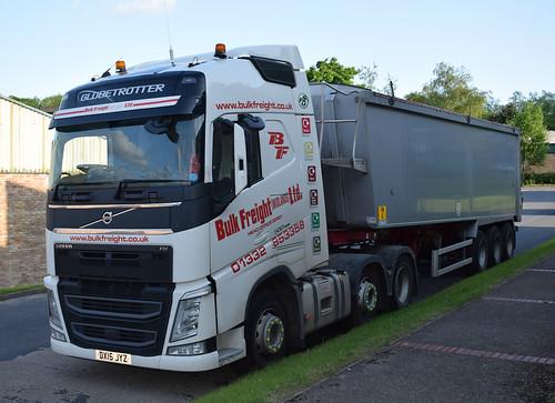 d9b93692454e Bulk Freight (Midlands) Ltd Volvo FH Globetrotter Bulk Tipper DX15 ...