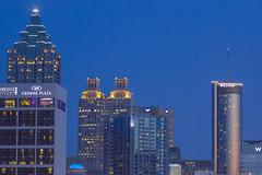Atlanta Closeup Skyline (ryanjohns821) Tags: city atlanta georgia landscape downtown cityscape