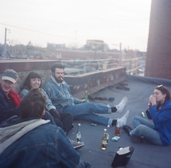Changing Season (Laura-Lynn Petrick) Tags: newyorkcity friends toronto rooftop portraits high seasonal documentary series buds summertime wintertime heights downtowntoronto musicianportraits torontostreets lauralynnpetrick lauralynnpetrickfilm lauralynnpetrickmusicians lauralynnpetrick35mm newyorkneighbourhood