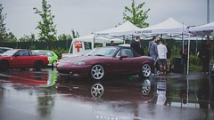 MiniReport - Japanese Cars Meeting 2K16 (Daniele Paderi) Tags: blue light red italy cloud reflection cars car rain japan honda japanese grey crazy track report engine subaru toyota modena panning meet rolling jdm motorsport autodromo stance trackday lowmbardy